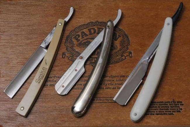 parker straight edge razors