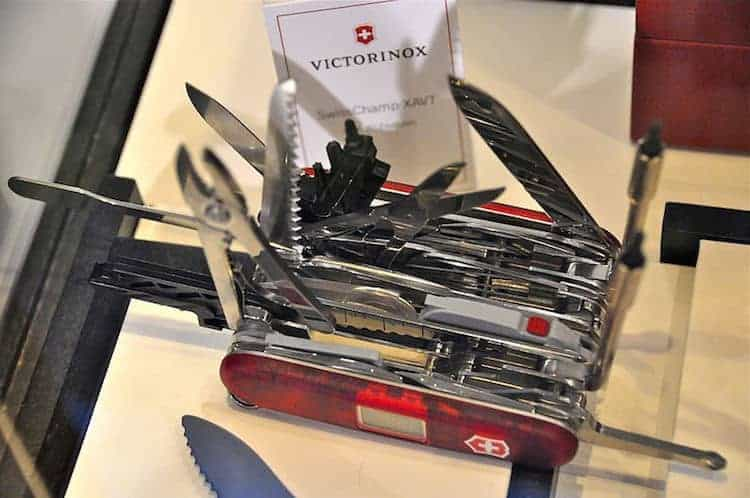 A Short History Of The World Famous Swiss Army Knife