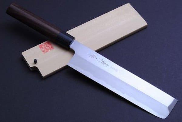 Yoshihiro Japanese Sushi Chef Kasumi Knife Shitan 3p Set (Yanagi270 : Usuba195 : Deba180) 1