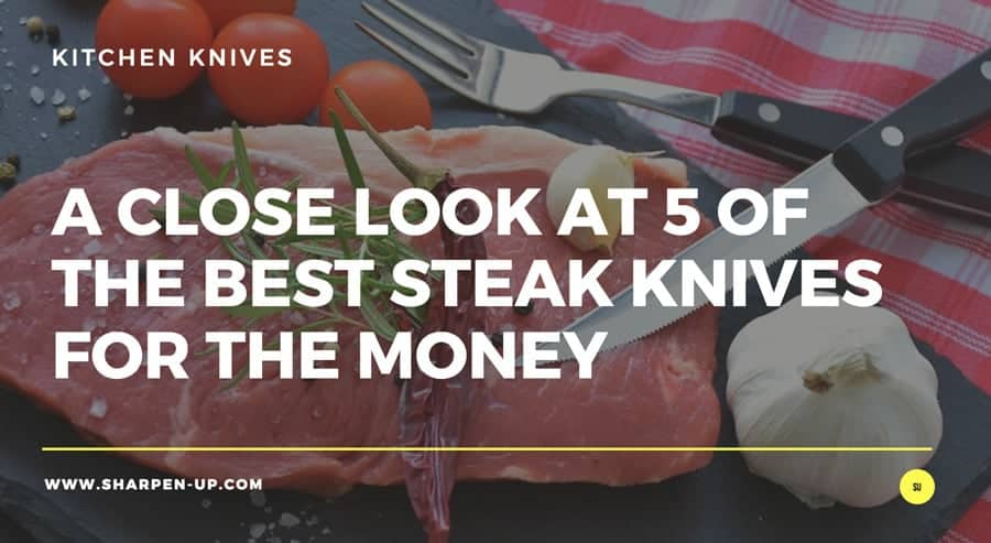 steak and knife and fork