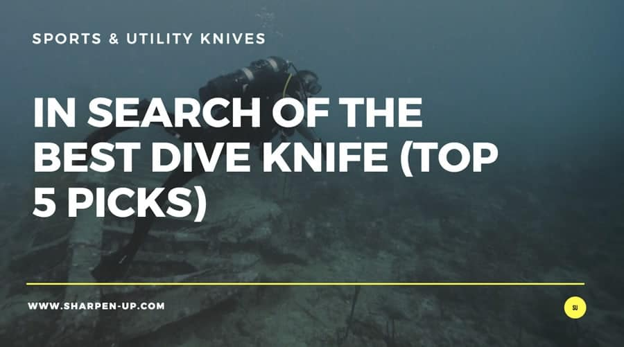 diver and dive knife