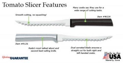 RadaCutleryTomatoSlicerKnife