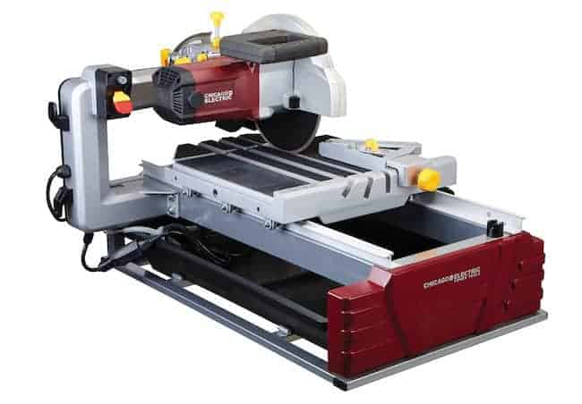 2.5 Horsepower 10%22 Industrial Tile:Brick Saw 1
