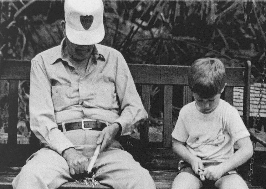 Whittling-with-Grandpa why whittle