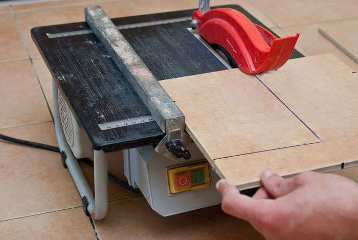 How To Use A Wet Tile Saw Sharpen Up