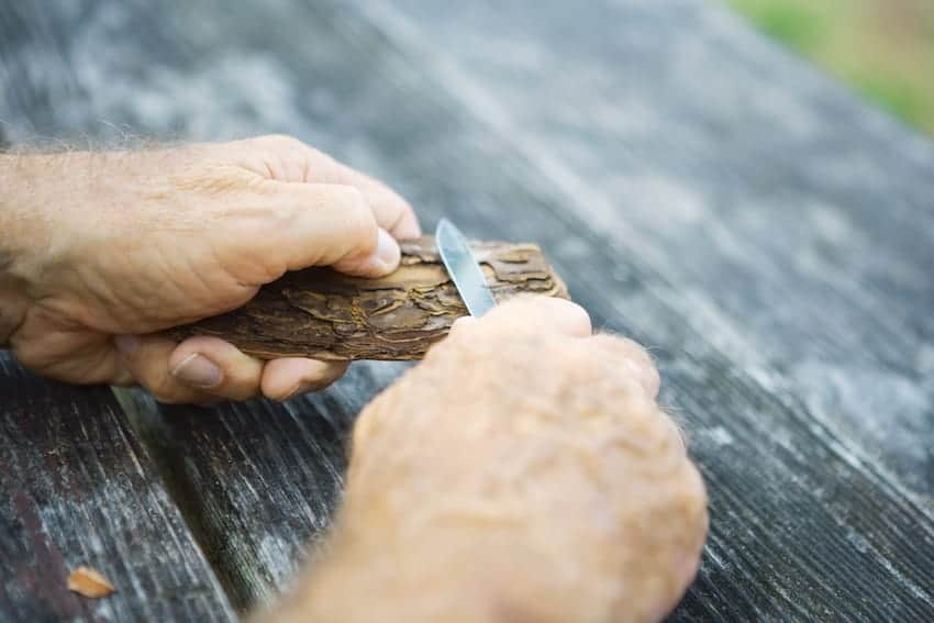 rough-cut whittling techniques