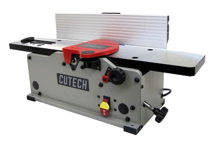 Cutech 40160H-CT 6%22 Bench Top Spiral Cutterhead Jointer 1