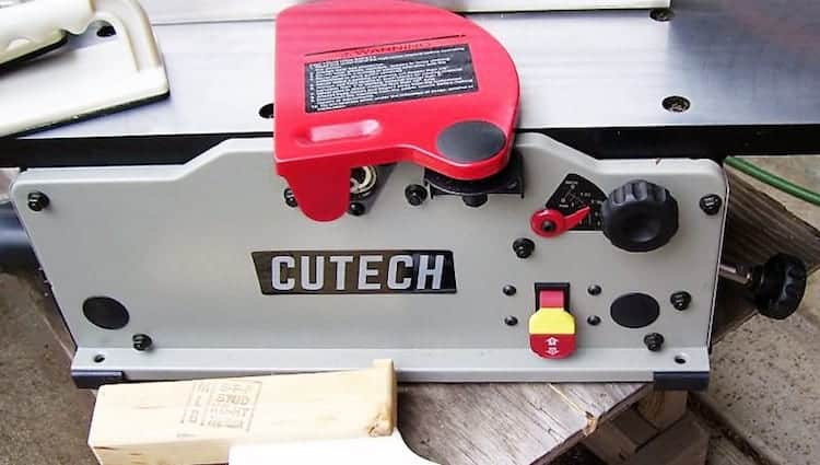 Cutech 40160H-CT 6%22 Bench Top Spiral Cutterhead Jointer 2