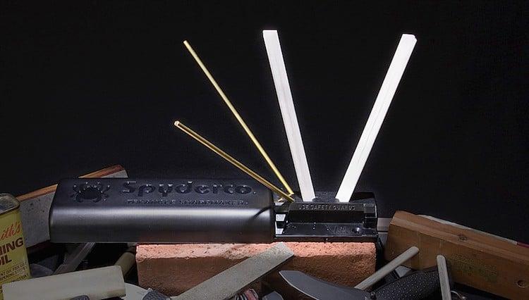 Spyderco Tri-Angle Sharpmaker Knife Sharpener.