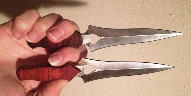 custom-throwing-knife-handles