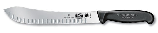butcher knife blade steel - victorinox