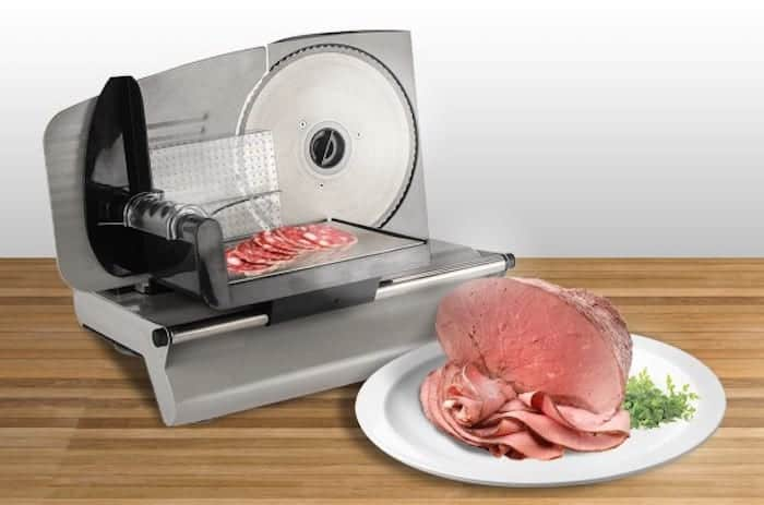 lightweight meat slicer