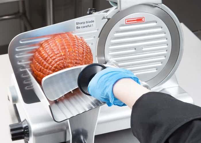 safety tips when using a meat slicer