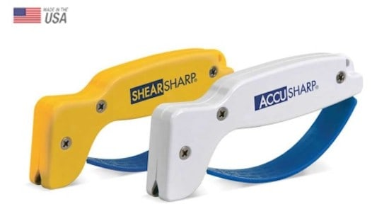 sharpening with an Accusharp tool