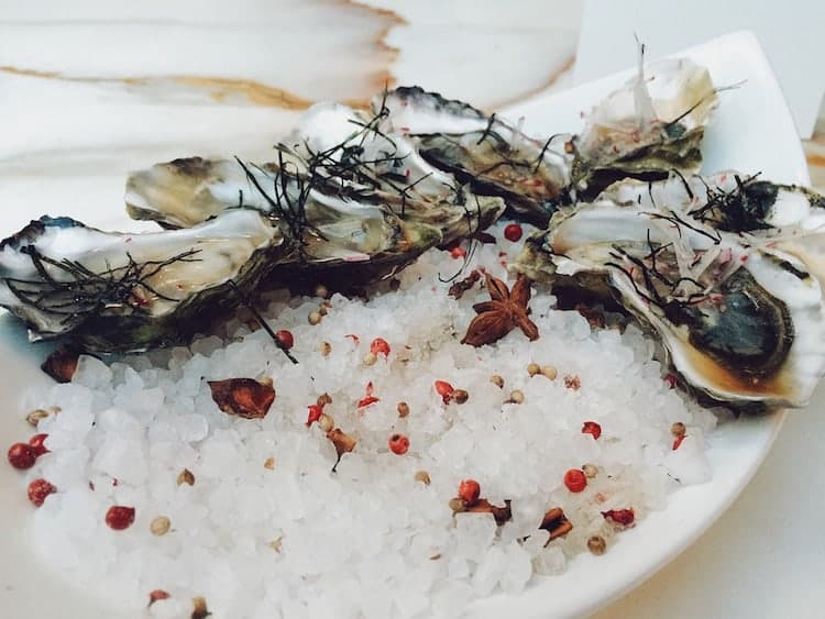 oysters-served
