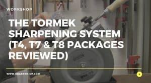 tormek sharpening system