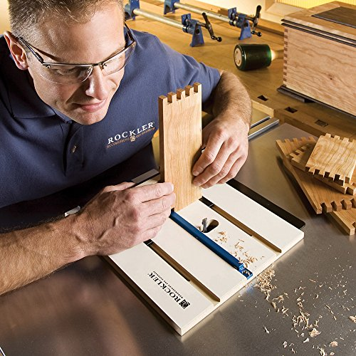 Best box joint jig incra i woodhaven rockler more sharpen up also unlike incra i box which supports mounting on non standard miter slots the rockler router table box joint jig can only be fitted on a router table greentooth Gallery