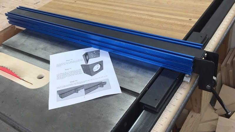Buying The Best Table Saw Fence We Pick Our Top 5 Sharpen Up