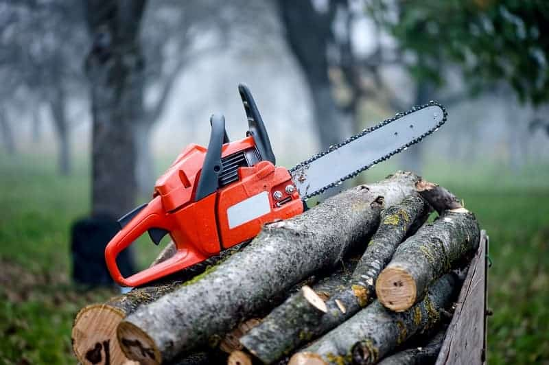 choosing the right sized chainsaw