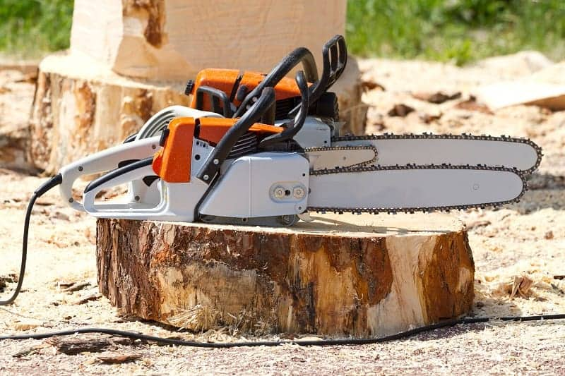 Can you switch out your chainsaw bar for a longer one