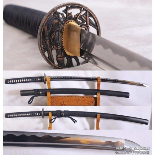 1060 High Carbon Steel Blade Martial Arts Iaito Katana (Hand-Forged)