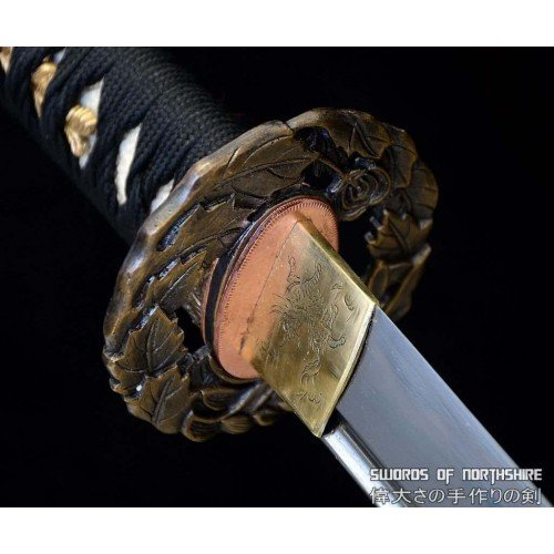 Custom-Made Samurai Sword Japanese Katana (Hand-Forged)