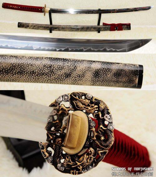 Westworld Shogun 1095 High Carbon Steel (Clay-Tempered) Miyamoto Musashi Katana